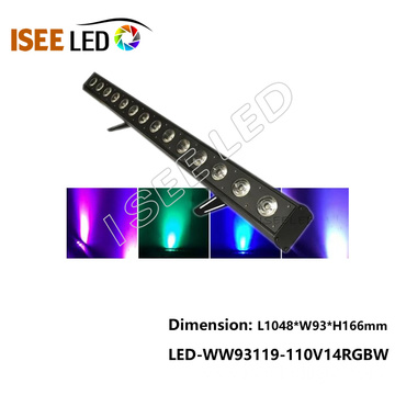 Aluminum DMX RGB Outdoor Waterproof Led Wall Washer